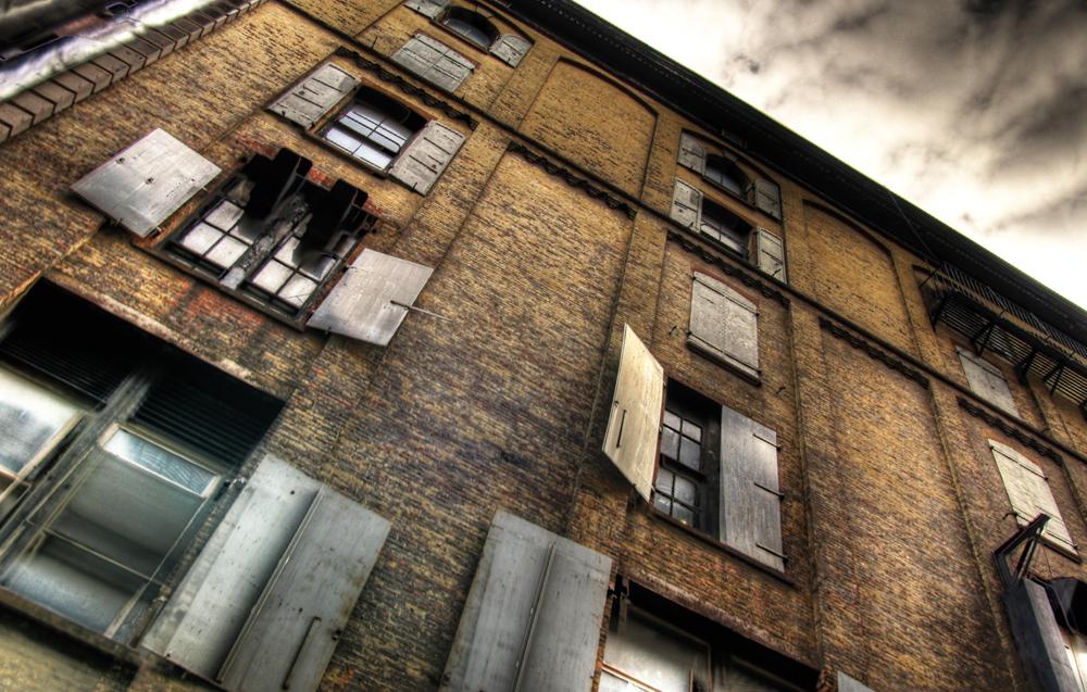alley building