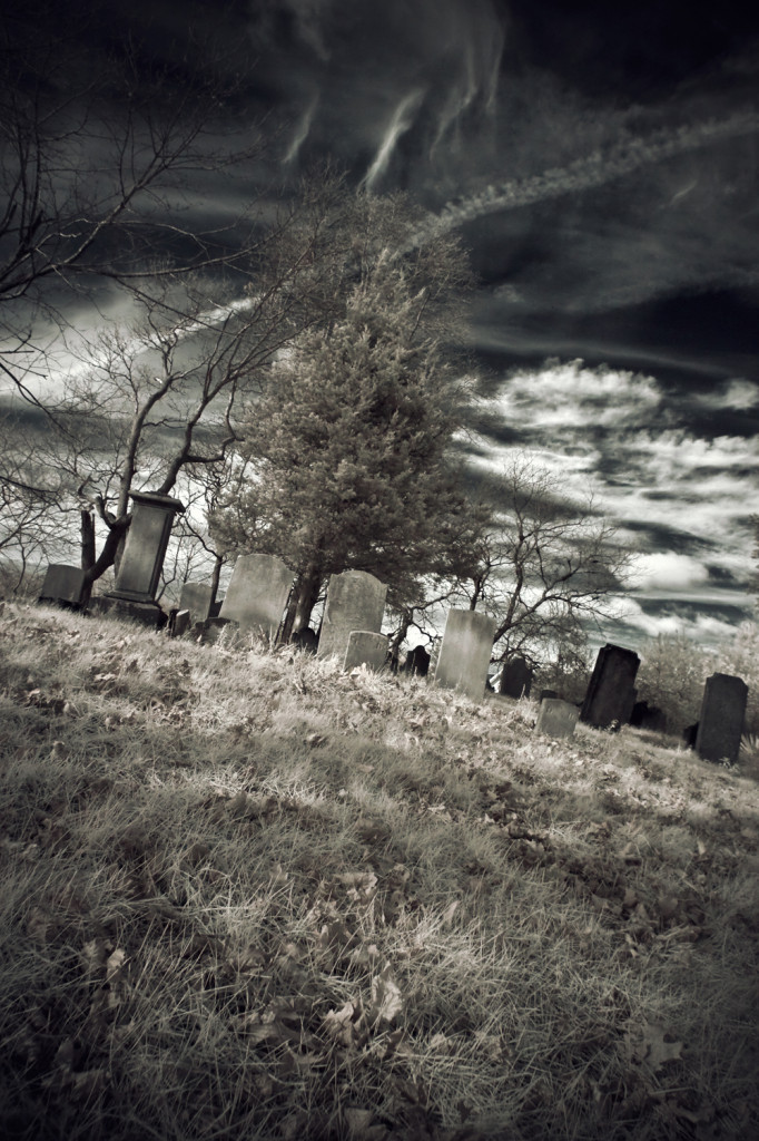 carll cemetery IR 009 vintage