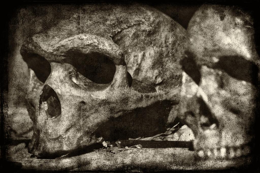 skulls silver