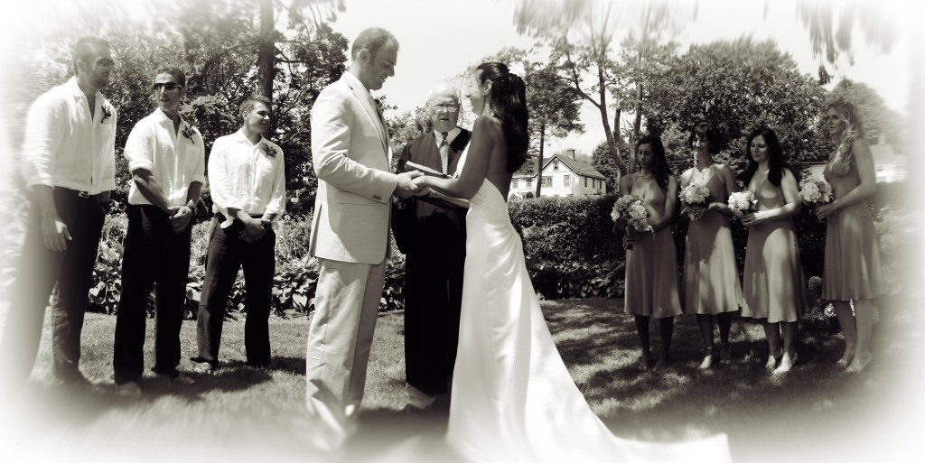 wedding 171  172 Panorama sepia