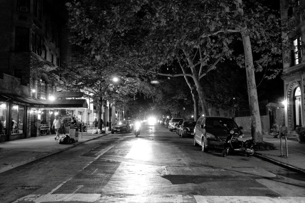 night test shots 117 b&w